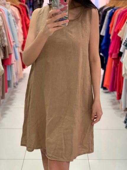 Ľanové šaty 8343-3-0