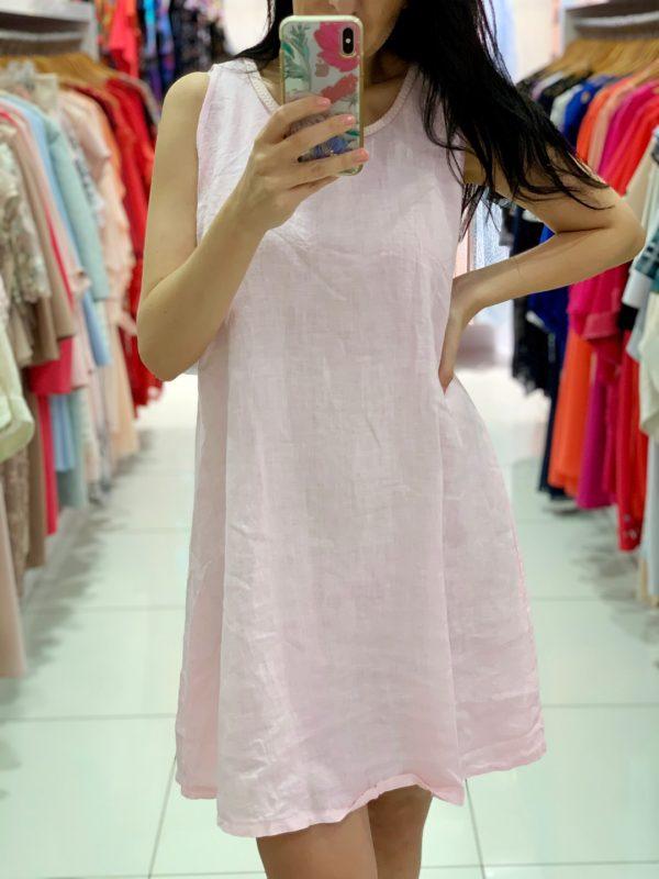 Ľanové šaty 8343-2-0