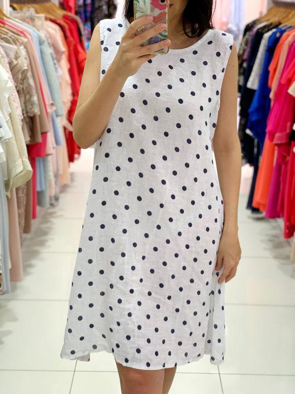 Ľanové šaty 8255-3-0