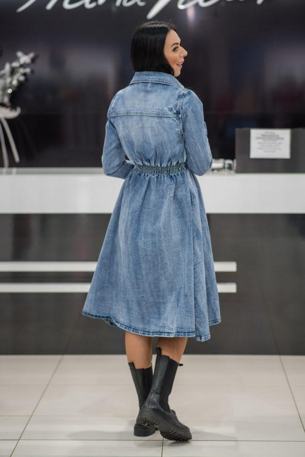 Riflové šaty 8559-1-11349
