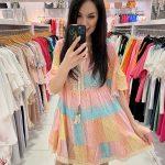 Dúhové šaty 3941-13