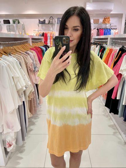 Tričkové šaty 7565-11