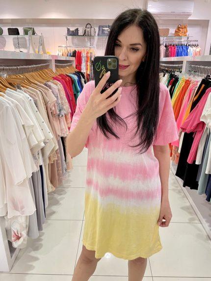 Tričkové šaty 7565-12